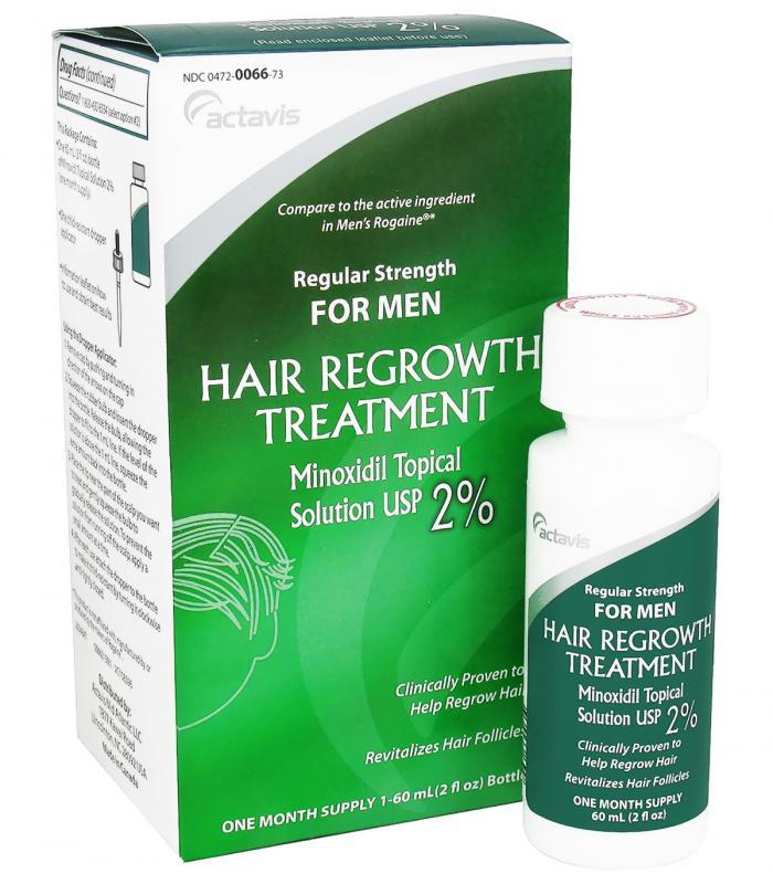Миноксидил 2% Actavis для мужчин (МОЖНО И ЖЕНЩИНАМ) - на 1 месяц (1 фл х 60 мл) [Minoxidil 2% Actavis for men (1 bottle 60 ml)