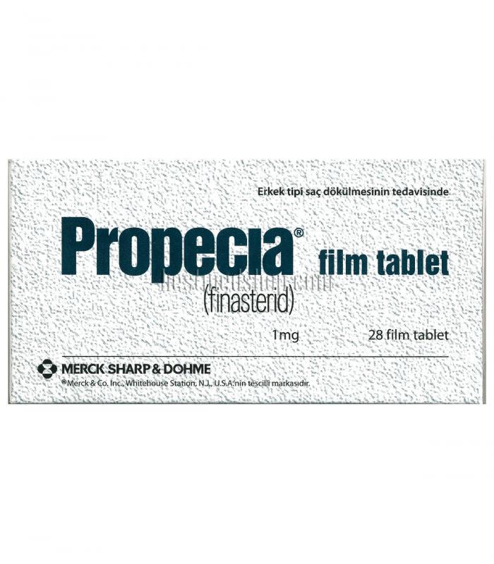 Пропеция (28 таб х 1 мг финастерида) - Мерк Шарп и Доум (Великобритания, Турция) [Propecia (28 pills x 1mg) - Merck Sharp & Dohme (UK, Turkey)]