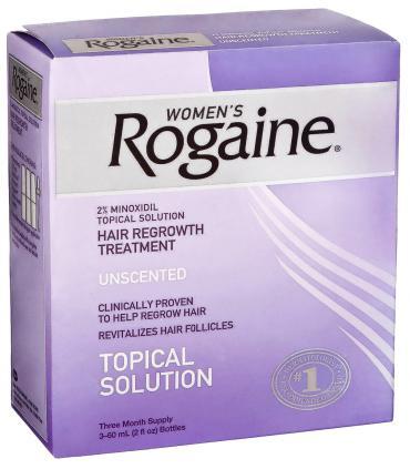 Рогейн 2% (3 фл х 60 мл в одной упаковке) без запаха для женщин [Rogaine 2% (3x60 ml) Unscented for Women]