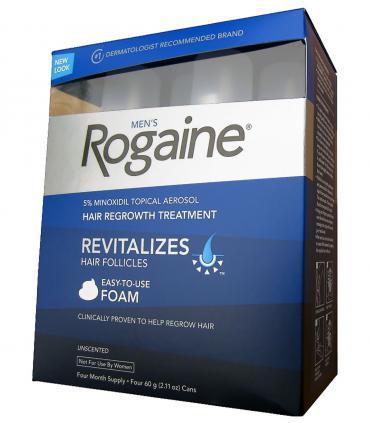 Рогейн 5% пена (Rogaine 5% Foam) для восстановления роста волос может применяться мужчинами и женщинами (по назначению врача).