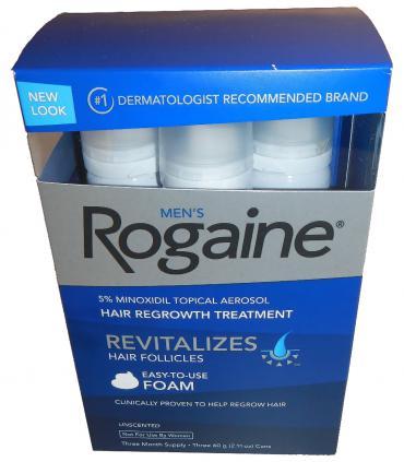 Рогейн 5% пена (Rogaine 5% Foam) - самый приятный в использовании препарат наружного применения для лечения облысения