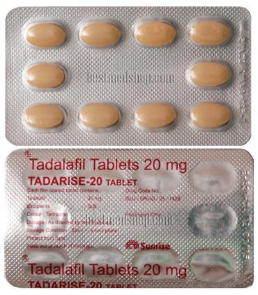 Тадарайз (блистер 10 таб х 20 мг тадалафила) [Tadarise (blister 10 таб x 20 mg tadalafil)]