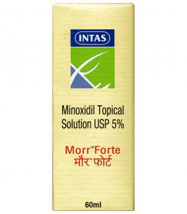 Морр Форте - Миноксидил 5% (1 фл x 60 мл) [Morr Forte - Minoxidil  5% (1 bott x 60 ml)]