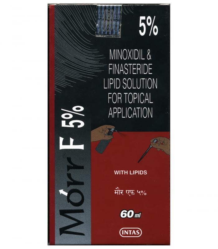 МОРР-Ф Миноксидил 5% с финастеридом 0,1% (1 фл x 60 мл) [Morr-F Minoxidil 5% with Finasteride 0,1% (1x60 ml)]