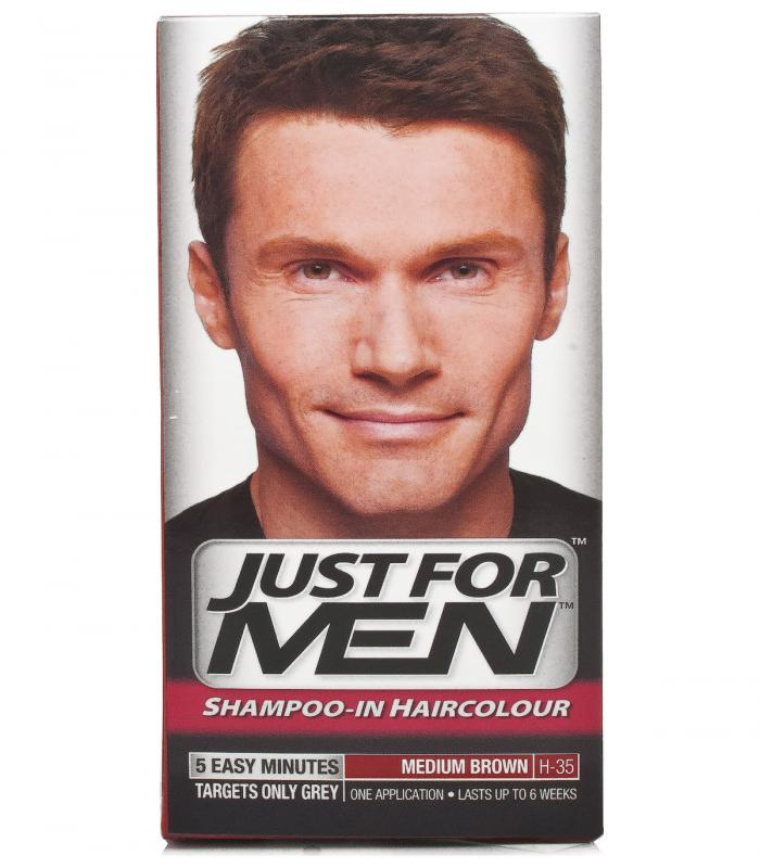 Джаст фо Мен Медиум Браун средне-коричневый H-35 [Just for Men Medium Brown H-35]