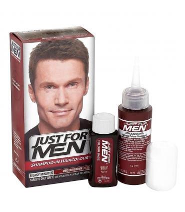Джаст фо Мен Медиум Браун средне-коричневый H-35 [Just for Men Medium Brown] - скрывает седину у мужчин. Но можно и женщинам!