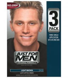 Джаст фо Мен Лайт Браун светло-коричневый H-25 (тройная упаковка) [Just for Men Light Brown H-25 - triple pack]
