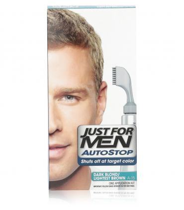 Джаст фо Мен Автостоп темный блондин Дак Блонд A-15 [Just for Men AutoStop Dark Blond A-15]