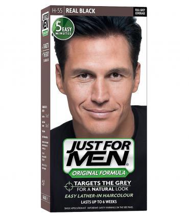 Джаст фо Мен Риал Блэк черный H-55 [Just for Men Real Black H-55]