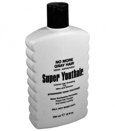 Super Youthair (Супер ЮсХэа) универсален - он восстанавливает любой натуральный цвет поседевших волос. Подбор под цвет не нужен!