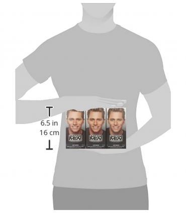 Примерный размер упаковок с красками для скрытия седины Джаст Фо Мен [Just For Men].