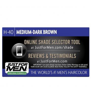 Дизайн упаковок Джаст фо Мен [Just for Men] меняется компанией Combe часто. В нашей галерее представлено несколько вариантов.