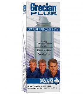 Grecian 2000 Plus Foam - пенка Грециан 2000 Плюс - приятное в применении средство постепенного восстановления цвета волос.