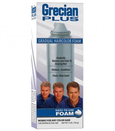 Грециан 2000 Плюс (пена) 142 гр [Grecian 2000 Plus (Foam) 142 gr] для постепенного скрытия седины