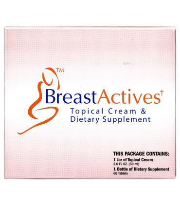 БрэстЭктивс Плюс комплекс (60 таб + крем) на 1 месяц [BreastActives Plus combo pack (60 tabs + cream) 1 month pack]