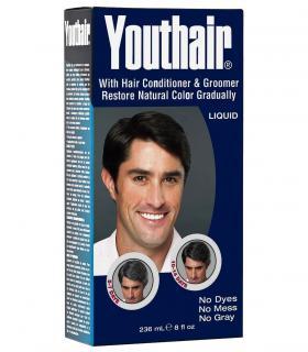 Youthair Liquid (ЮсХэа Ликвид) - Лосьон для восстановления натурального цвета седых волос для мужчин и женщин (236 мл) [Youthair Liquid for Men and Women (236 ml)]