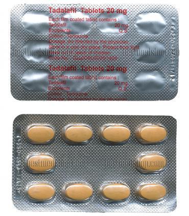 Тадалафил (блистер 10 таб х 20 мг) [Tadalafil (blister 10 tab x 20 mg)]