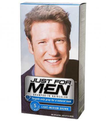 Джаст фо Мен (Just for Men) для мужчин - самый популярный в мире бренд среди красок для быстрого и натурального скрытия седины.