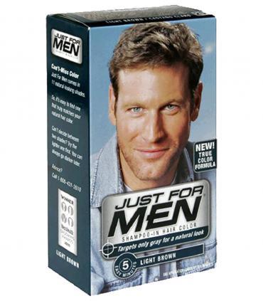 Краски Just for Men настолько естественно скрывают седину волос, что никто не догадается о том, что Вы применяли какие-то краски