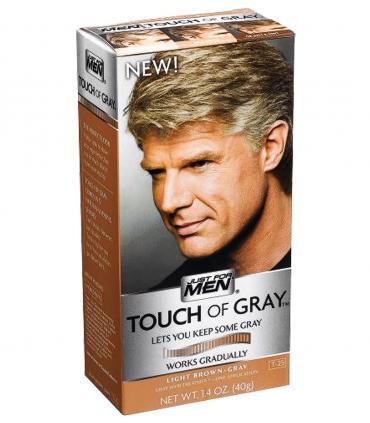 Краски Just For Men Touch of Grey позволяют сохранить естественный вид, когда седины очень много ввиду возраста и других причин.