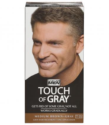 Еще один дизайн упаковки Джаст фо Мен Тач оф Грей Медиум Браун средне-коричневый [Just For Men Touch of Grey Medium Brown-Gray]